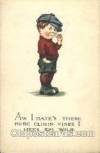 smo001238 - People / Children Smoking Postcard Postcards