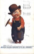 smo001239 - People / Children Smoking Postcard Postcards