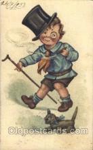smo001244 - People / Children Smoking Postcard Postcards