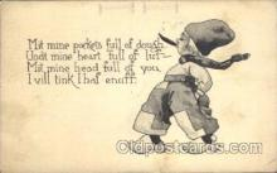 smo001258 - People / Children Smoking Postcard Postcards