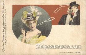 smo001259 - J.F.Schreiber People / Children Smoking Postcard Postcards