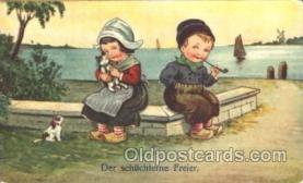 smo001261 - People / Children Smoking Postcard Postcards