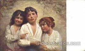 smo001266 - People / Children Smoking Postcard Postcards