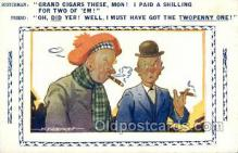 smo001309 - Smoking Postcards Old Vintage Antique Post Cards