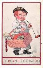 smo100071 - Smoking Old Vintage Antique Post Card