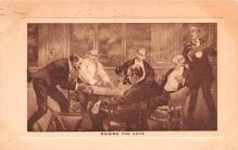 smo100095 - Smoking Old Vintage Antique Post Card