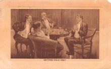 smo100096 - Smoking Old Vintage Antique Post Card