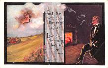 smo100101 - Smoking Old Vintage Antique Post Card