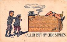 smo100108 - Smoking Old Vintage Antique Post Card