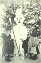 sno001008 - Snowman Postcard Postcards