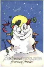 sno001020 - Snowman, Postcard Postcards