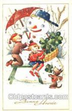 sno001021 - Snowman, Postcard Postcards