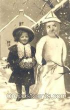 sno001023 - Snowman, Postcard Postcards