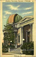 spa001009 - Allegheny Observatory, University of Pittsburgh, Pa, USA Space Post Cards Postcards