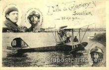 spa001091 - Ville De Champigny Souverir 1913 Early Air Postcard Post Card