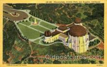 spa001097 - Planetarium, Griffith Park, Los Angeles, California, USA Space Post Cards Postcards