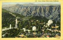 Mount Wilson Observatory, CA, USA