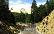 spa001118 - Palomar Observatiory, San Diego County, California, USA Space Post Cards Postcards