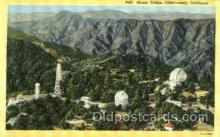 Mount Wilson Observatory, CA USA