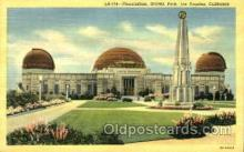 spa001139 - Planetarium, Griffith Park, Los Angeles, California, USA Space Post Cards Postcards