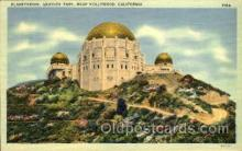 spa001148 - Planetarium, Griffith Park, Los Angeles, California, USA Space Post Cards Postcards
