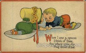 spn001031 - Spoon Postcard Postcards