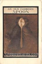 spn001046 - Spoon Postcard