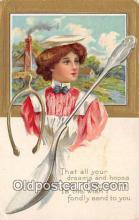 spn001047 - Spoon Postcard