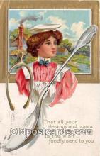 spn001048 - Spoon Postcard