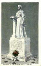 sta001003 - Temperance - Prohibition, Frances E. Willard, Statuary Hall, U.S. Capital, USA Statue Postcard Post Card Old Vintage Antique