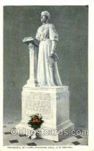 sta001003 - Temperance - Prohibition, Frances E. Willard, Statuary Hall, U.S. Capital, USA Statue Postcard Post Card Old Vintage Antique