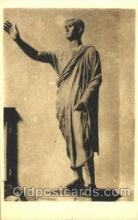 sta001010 - Firenze, R. Museo Archeologico Statue Postcard Post Card Old Vintage Antique