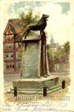 sta001014 - Braunschweig Löwen Denkmal Statue Postcard Post Card Old Vintage Antique