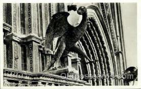 sta001017 - Orvieto, Duomo, Emblema di S. Giovanni, Lorenzo Maitani Statue Postcard Post Card Old Vintage Antique
