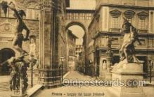sta001020 - Firenze Interno Statue Postcard Post Card Old Vintage Antique