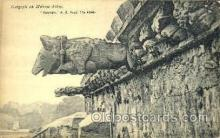 sta001021 - Gargoyle on Melrose Abbey Statue Postcard Post Card Old Vintage Antique