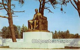 sta001025 - Statue Postcard