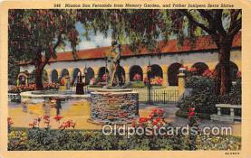 Mission San Fernando, Memory Garden