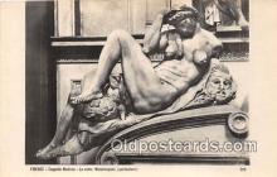 sta001047 - Statue Postcard