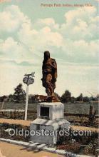 sta001048 - Statue Postcard
