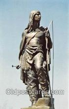 sta001049 - Statue Postcard