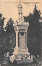 sta001053 - Statue Postcard