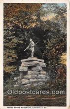sta001061 - Statue Postcard