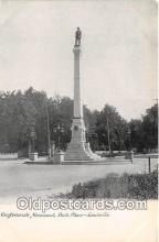 Confederate Monument, Park Place