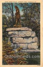 Daniel Boone Statue, Cherokee Park