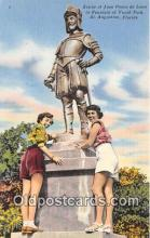 Statue of Juan Ponce De Leon, Fountain of Youth Park