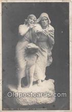 sta001088 - Statue Postcard