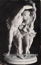 sta001090 - Statue Postcard