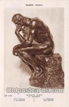 sta001100 - Statue Postcard