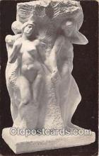 sta001103 - Statue Postcard